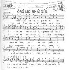 Óró mo Bháidín